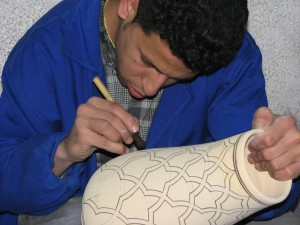 Handcrafted Pottery (Fes)