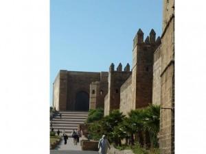 Main gate at kasbah (Rabat)