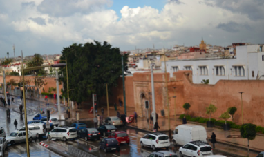 Traffic in Rabat