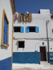 Rabat housing near kasbah